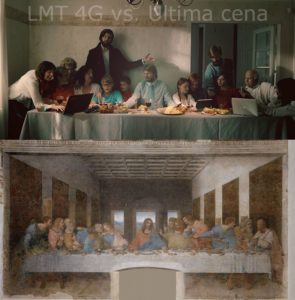 Da Vinči un LMT / 4G – Svētais vakarēdiens