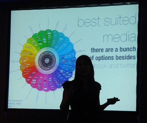 Natasha Saxberg. Presentation @ DIGITAL 2010
