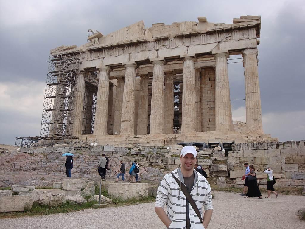 Pantheon. Acropolis. Atēnas. Grieķija
