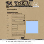 Pica LuLu pasūtījuma forma 2015. gada 30. augustā