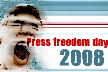 press freedom day 2008