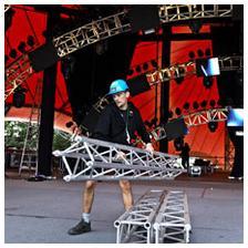 Roskilde festival, volunteer (Photo: Jens Dige/Rockphoto)