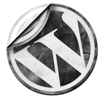 Wordpress. Logo
