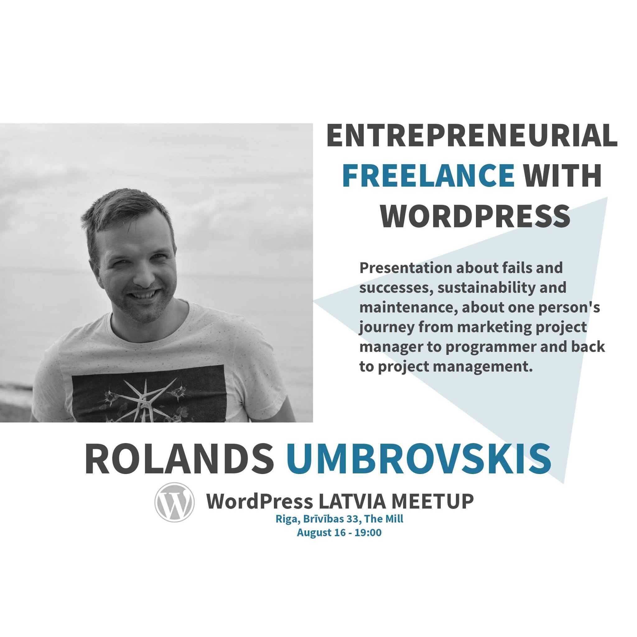 Entrepreneurial freelance with WordPress