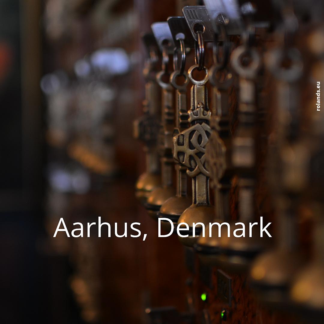 Hetel keys. Aarhus, Denmark.