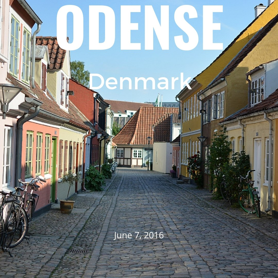Odense Old town, Denmark (2016)