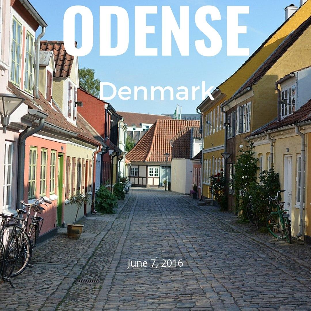 Odense Old town, Denmark (2016)