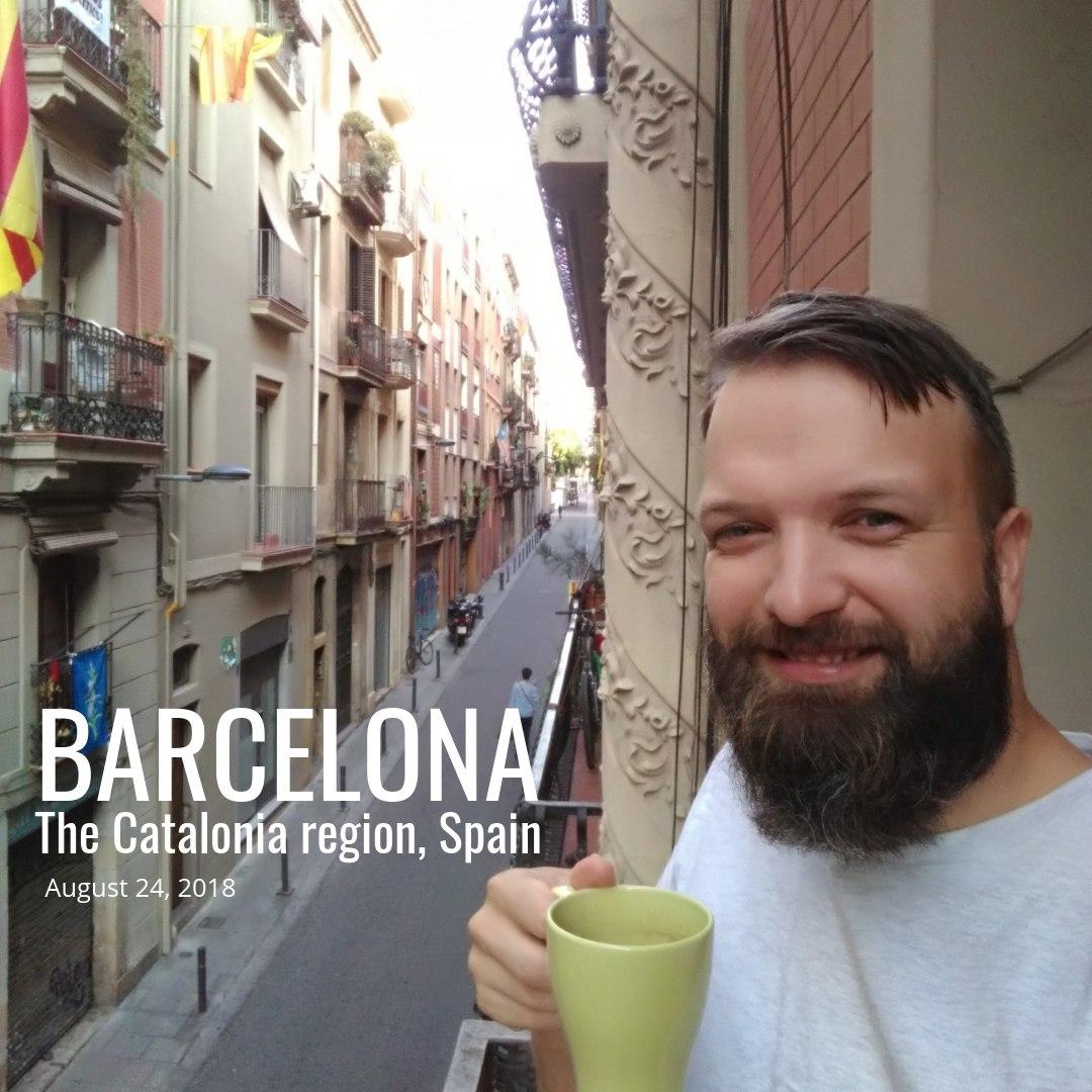 Barcelona, Catalonia region, Spain (2018); BCN