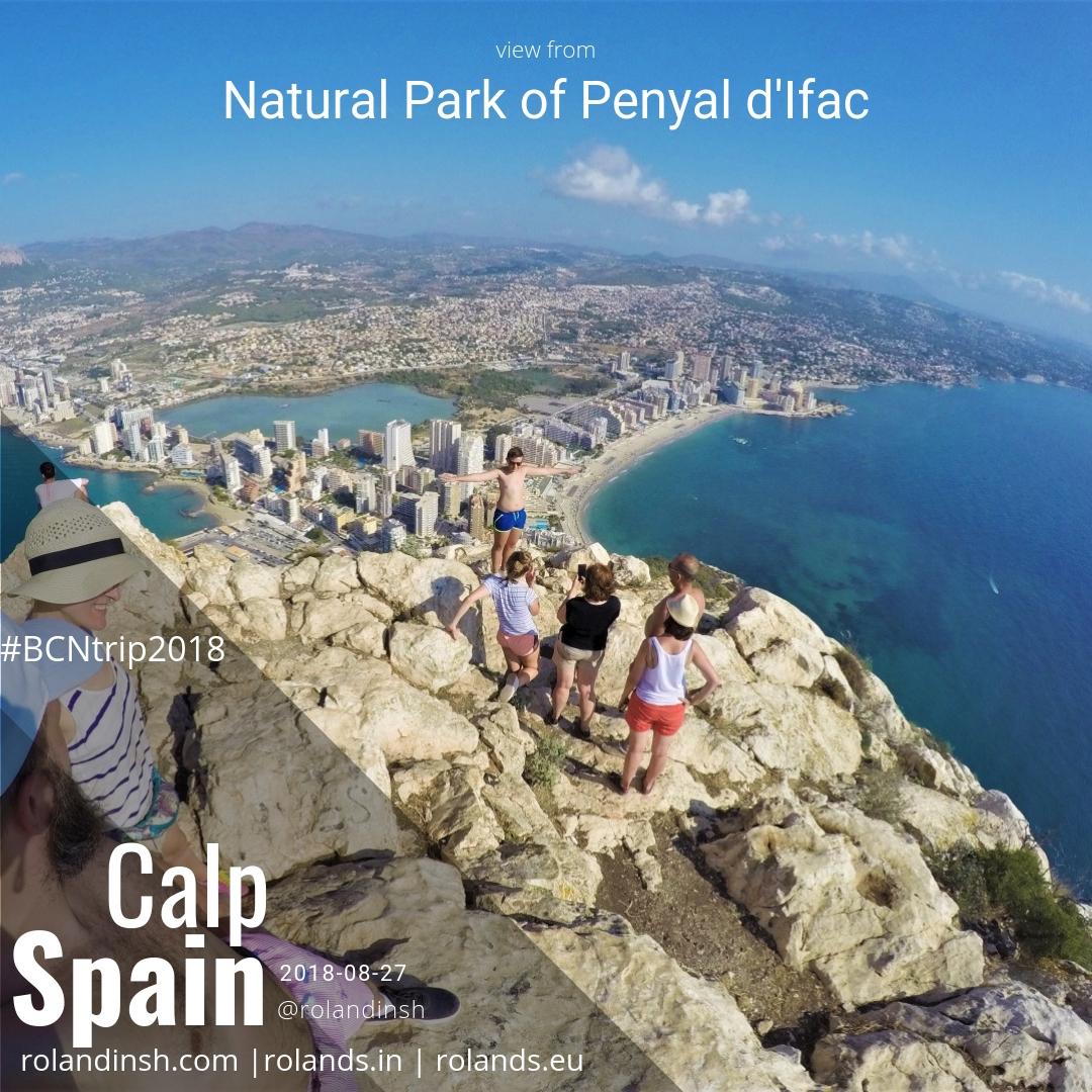 Calp, Spain (2018-08-27); Calpe