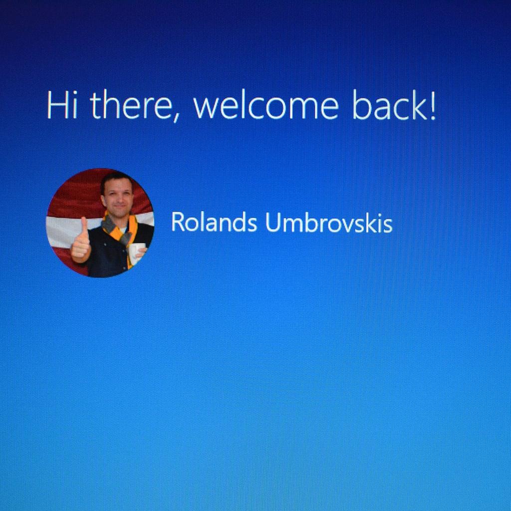 Microsoft Windows 10. Pirmais skats.