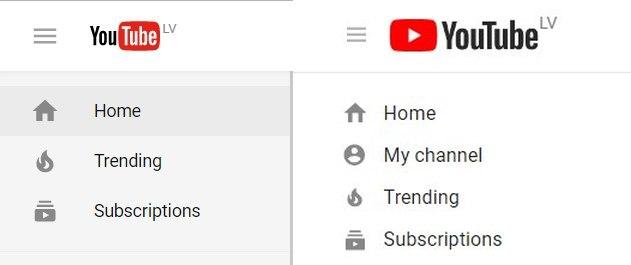YouTube logo 2017-08-29 salīdzinājums