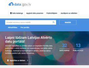 VARAM paspārnē izveidots vienots portāls valsts pārvaldes atvērto datu publicēšanai