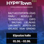 HyperTown RIX – Baltijas mēroga urbānās kultūras un eSporta festivāls Ķīpsalā