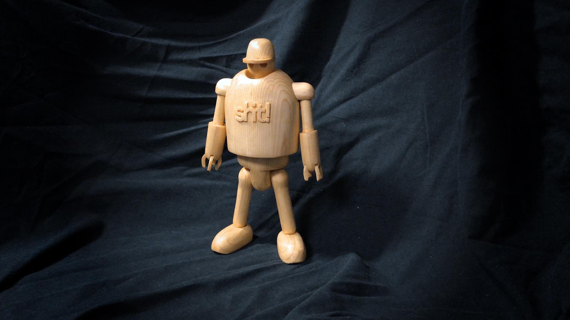 Wood Robot - by Björn Berglund