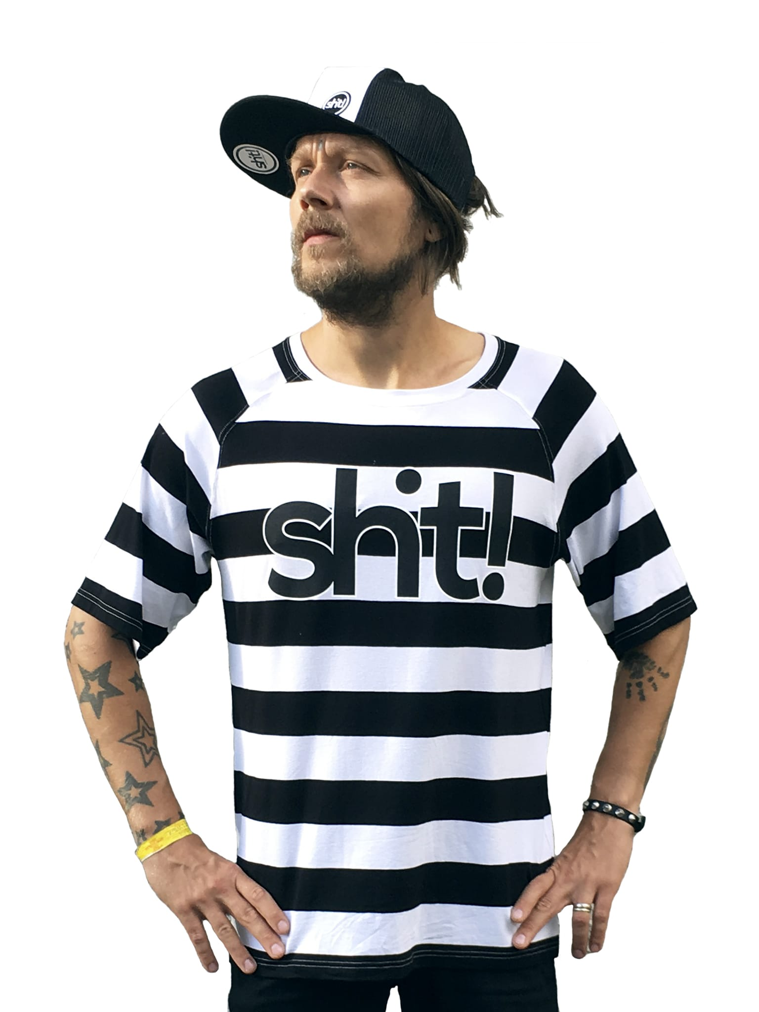 Black and white striped T-shirt - in 4 life collection