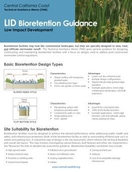 Bioretention Technical Memo