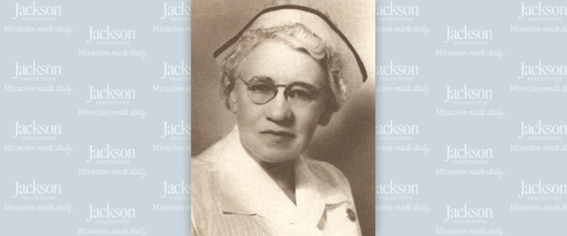 1919 First Board of Trustees Jackson nurse