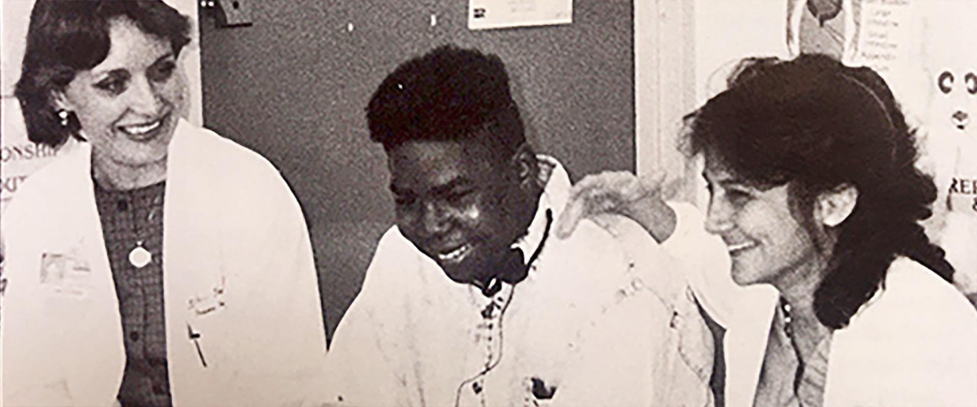 Bruce Brown and Jackson pediatrics heart transplant