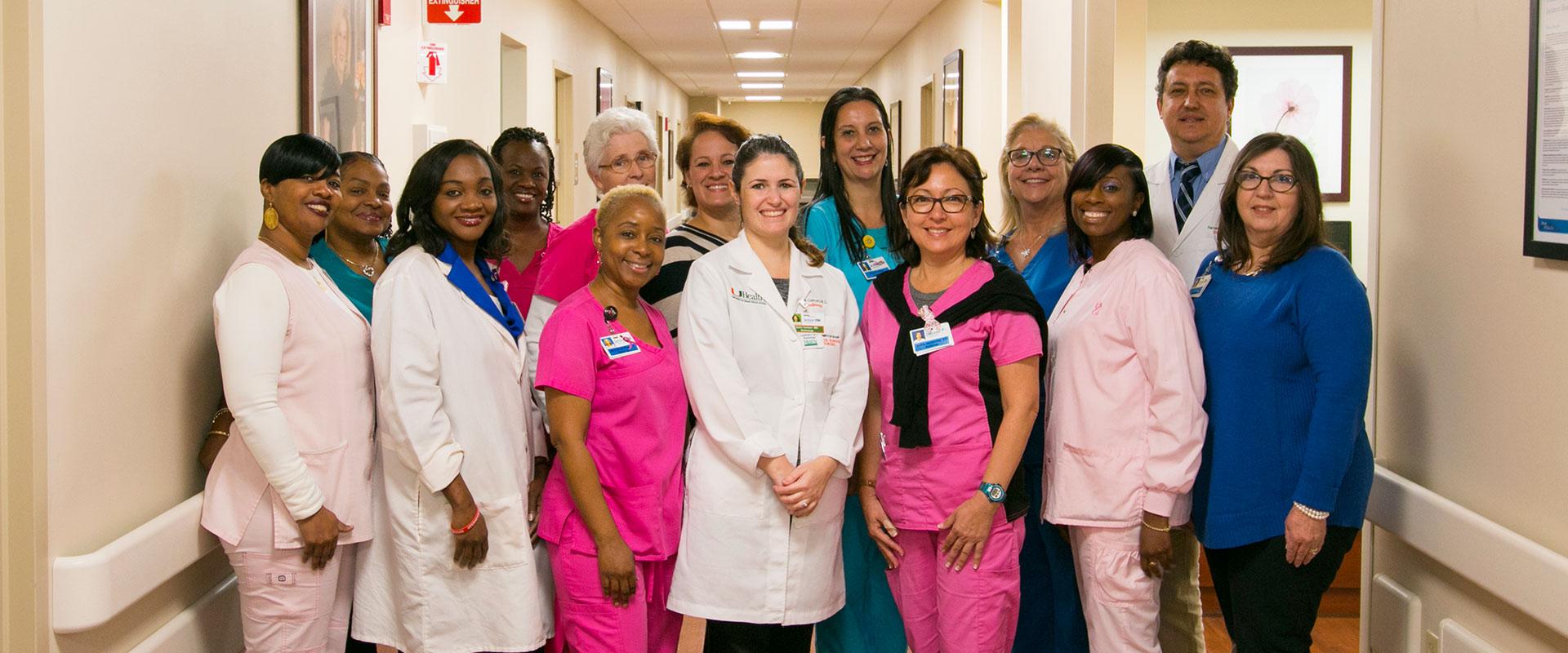 Michelle McPhee Mammography Technician Taylor Breast Health Center - Roberta Orlen Chaplin Digital Breast Imaging Center Jackson Memorial Hospital