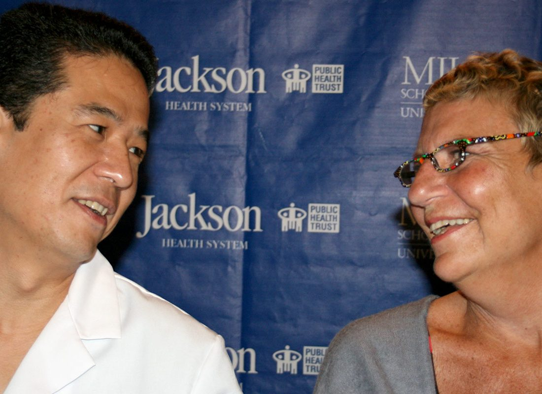 UM/Jackson physician Dr. Brooke Zepp Tomoaki Kato press conference