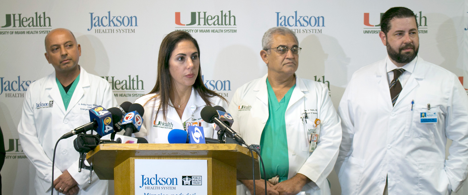 Zika State of Emergency Press Conference 2015