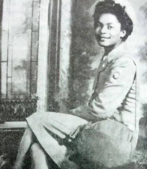 Young Black Jackson Nurse, Thelma Vernell Anderson Gibson