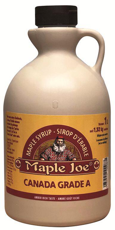 Sirop d'érable Mapple Joe® - MAPLE JOE - Pichet de 1 l