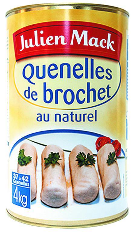Quenelles de brochet au naturel - MACK - Boite 5/1