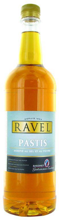 Pastis modifié 45% - RAVEL - Bouteille de 1 l