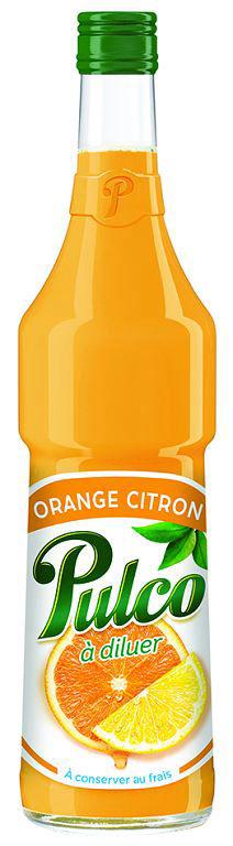 Pulco orange citron - PULCO - Bouteille de 70 cl