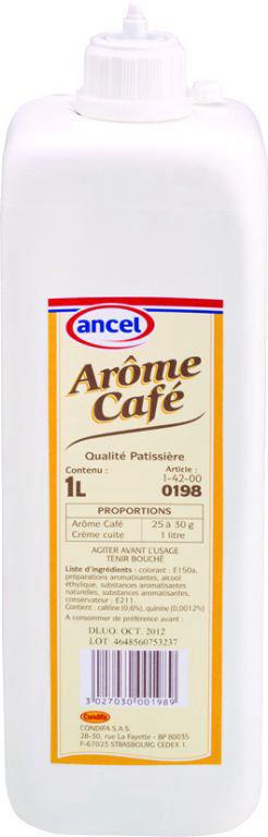 Arôme café - ANCEL - Bouteille de 1 l