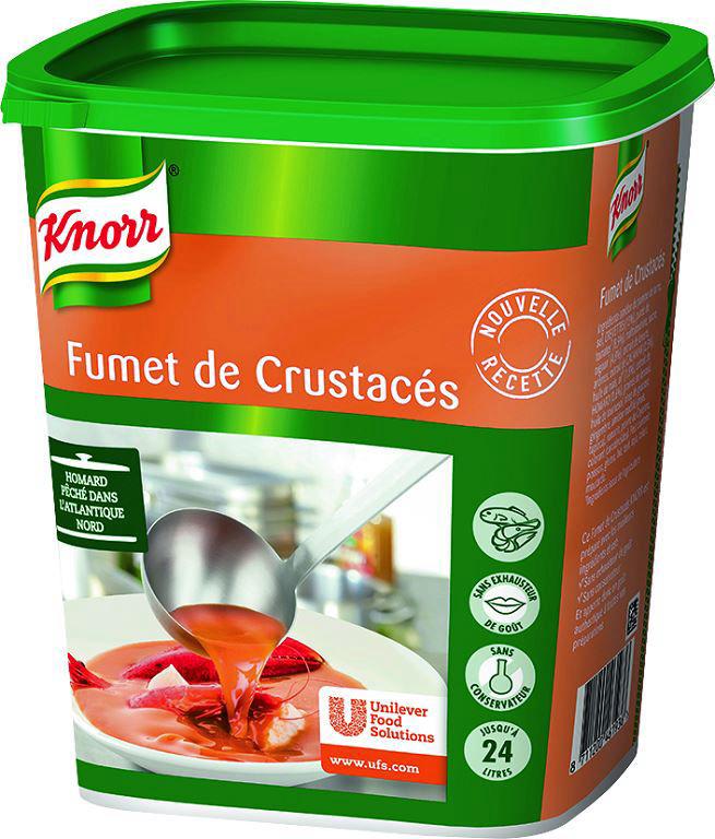 Fumet de crustacés déshydraté - KNORR - Boite de 600 g