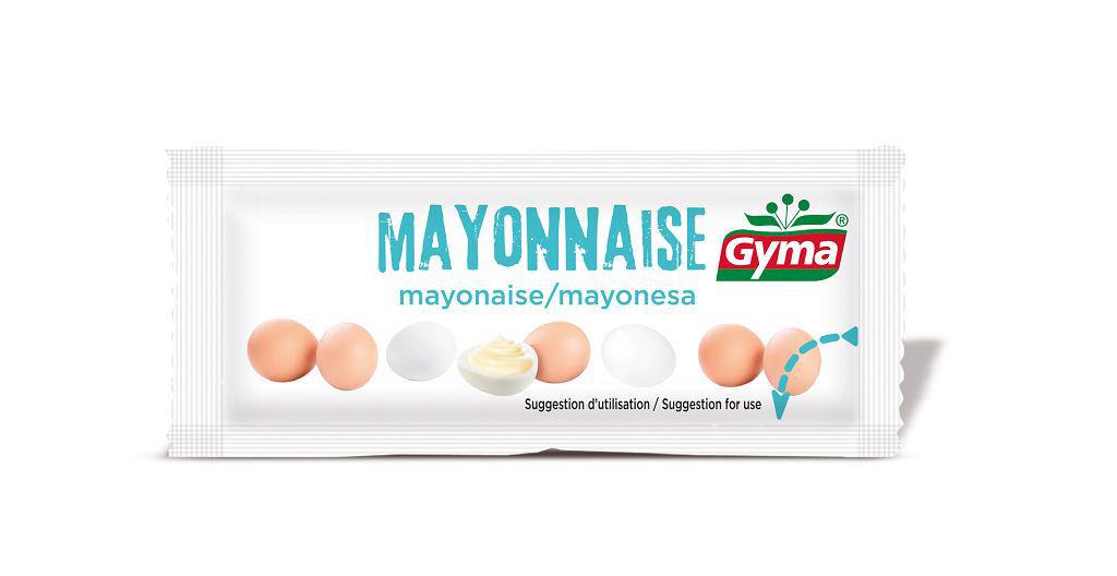 Mayonnaise - GYMA - Carton de 600 doses