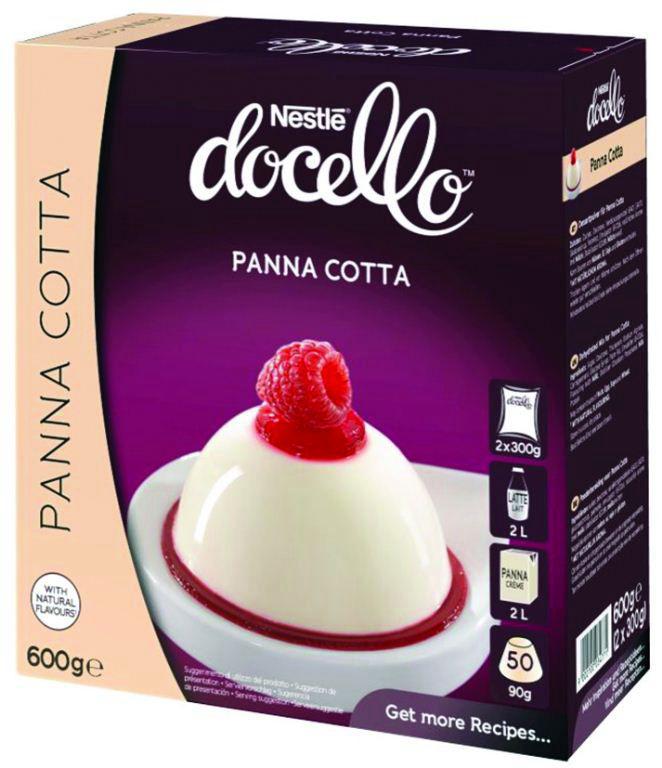 Panna cotta - NESTLE DOCELLO - Boite de 600 g