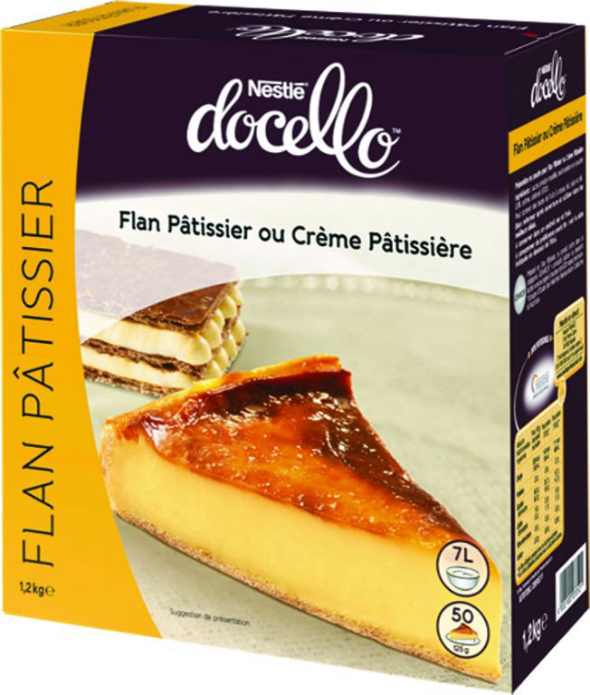 Flan pâtissier - NESTLE DOCELLO - Boite de 1,2 kg