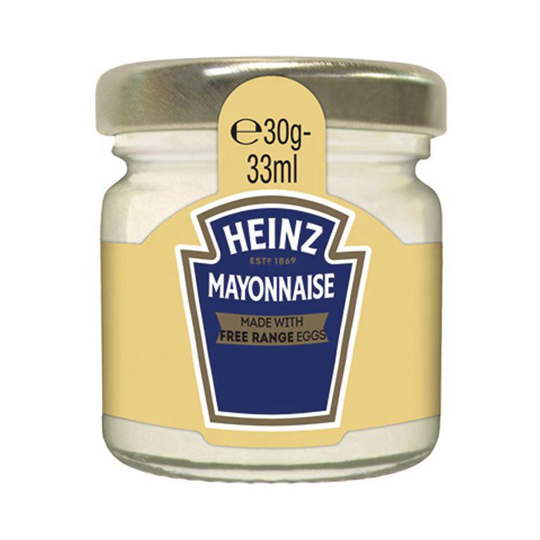Mayonnaise - HEINZ - Carton de 80 pots