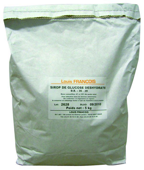 Sirop de glucose déshydraté - LOUIS FRANCOIS - Sac de 5 kg