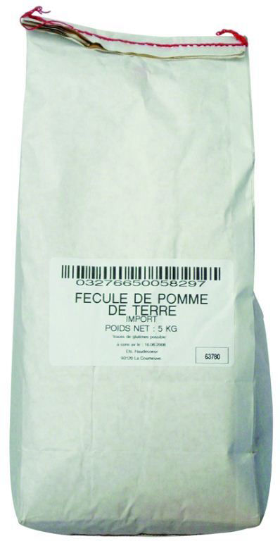 Fécule de pomme de terre - LEGUMOR - Sac de 5 kg