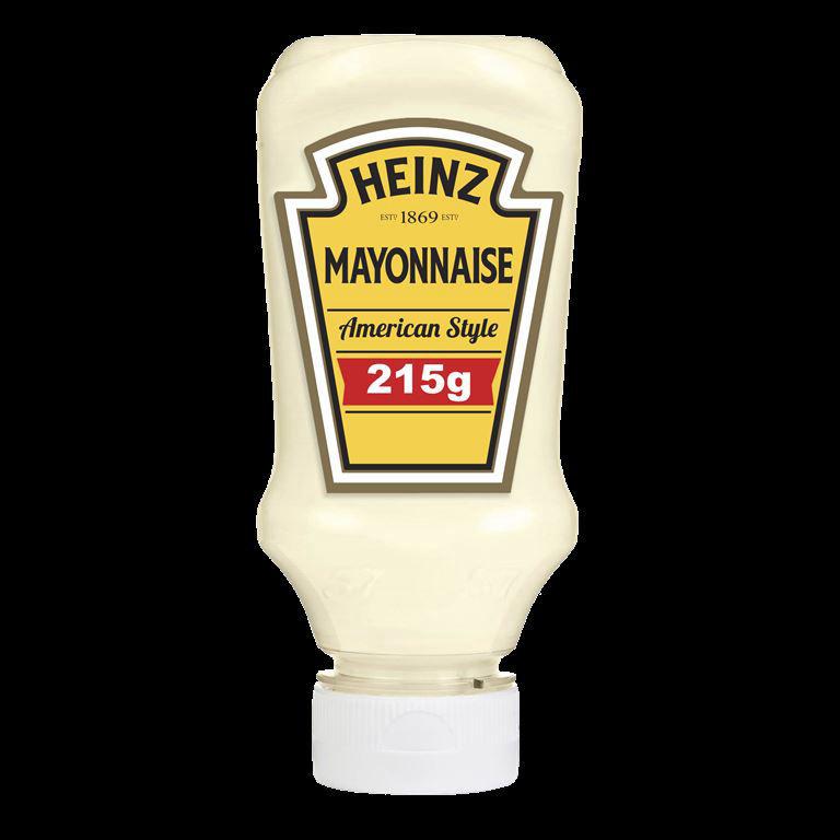 Mayonnaise American Style - HEINZ - Flacon de 220 ml