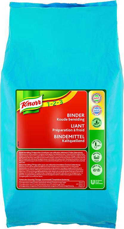 Liant à froid - KNORR 1,2,3 - Sac de 2kg