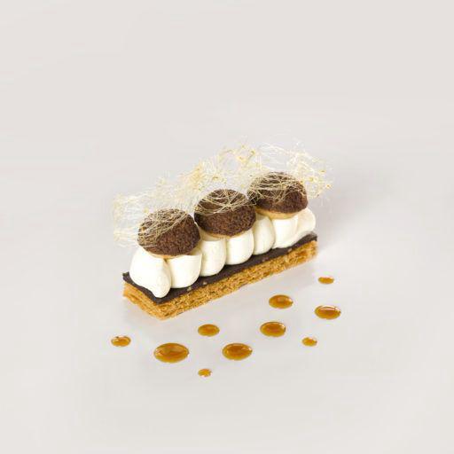 Sauce dessert saveur caramel - ANCEL - Flacon de 1 kg