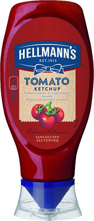 Ketchup - HELLMANN'S - Flacon de 430 ml