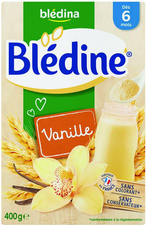 Blédine saveur vanille dès 6 mois - BLEDINA - Boite de 400 g