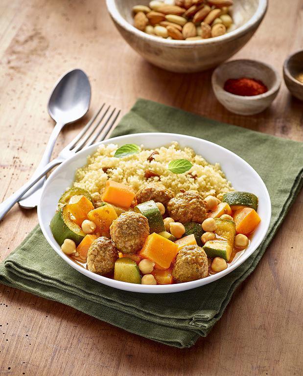 Couscous Veggie - D'AUCY - Carton de 4 plateaux