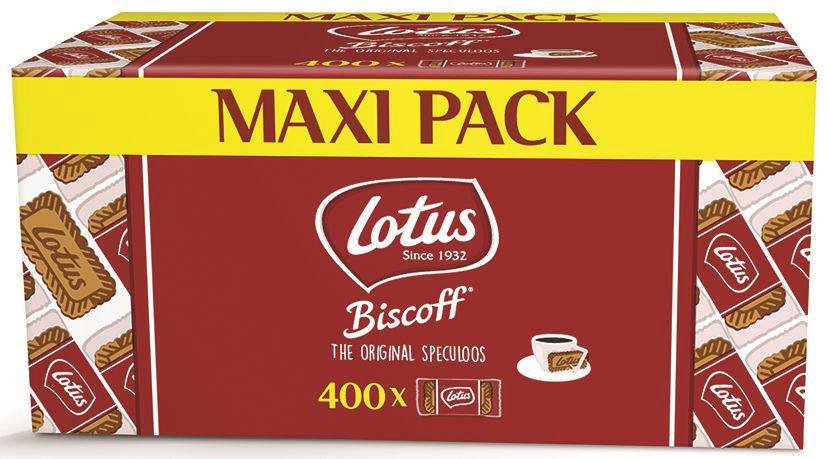 Spéculoos original - LOTUS - Carton de 400 sachets