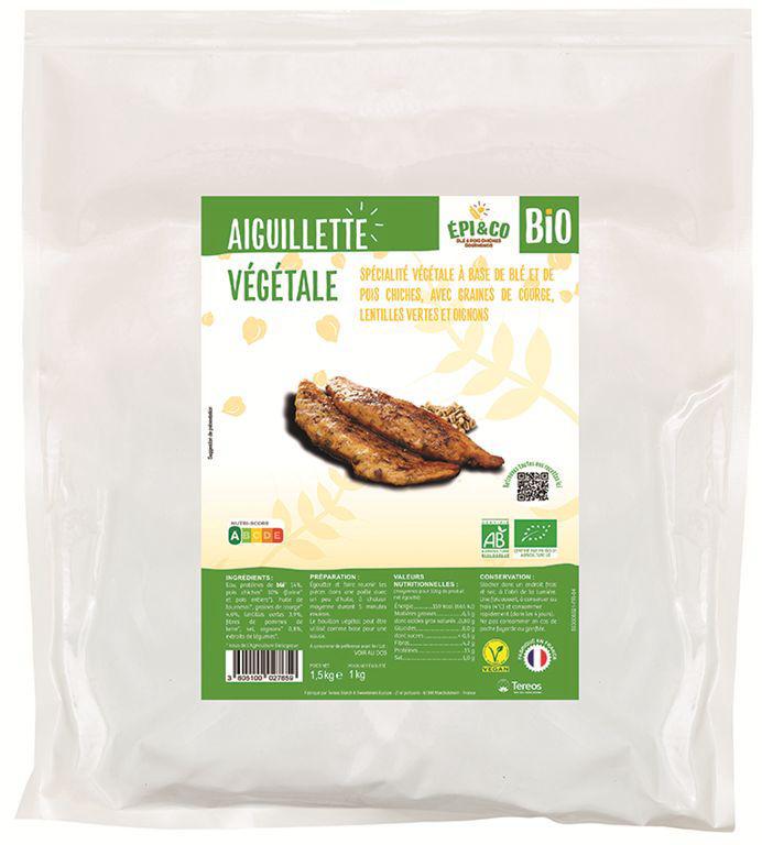 Aiguillettes végétales Bio - EPI & CO - Sachet de 1 kg