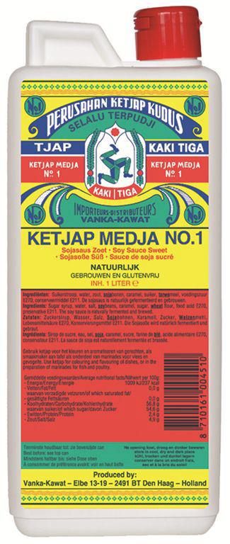 Sauce yakitori - KAKI TIGA - Bouteille de 1 l