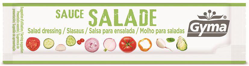 Sauce salade - GYMA - Boite de 100 sticks