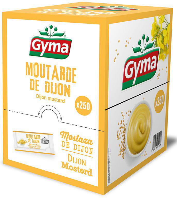 Moutarde - GYMA - Boite de 250 sticks