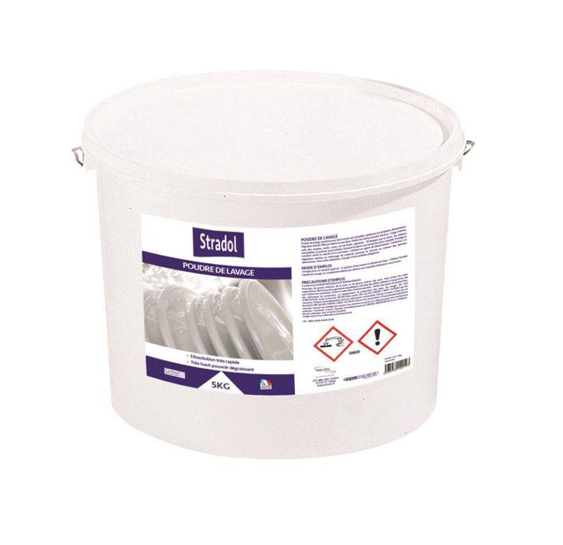 Poudre lave vaisselle - STRADOL - Seau de 5kg